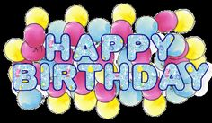 Site with LOTS of Happy Birthday Gifs for Friends Online