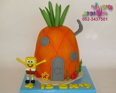 spongebob house cake by cakes-mania my-cakes-cakes-for-boys Spongebob House, House Cake, Happy Birthday, Birthday Cake, Cakes For Boys, Boy Cakes, Cake Gallery, Sugar Art, Amazing Cakes