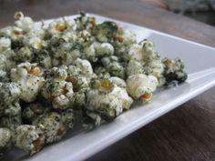 The Green Monster: Spirulina Popcorn