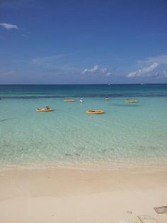 Seven Mile Beach in West Bay, Grand Cayman