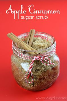 Apple Cinnamon Sugar Scrub - Great gift idea!