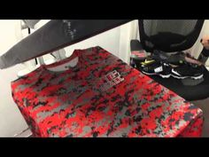 How to Heat Press a custom Dri-fit Baseball shirt with Heat Transfer Vinyl