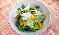 Receta de Ensalada de lechuga y naranja