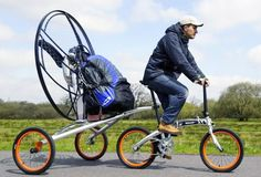 Amazing Homemade Bicycle - Best Bike Inventions Monocycle, Powered Bicycle, Folding Bicycle, Flying Car, Paragliding, Bicycle Design, Expensive Cars, Cool Bikes, First World