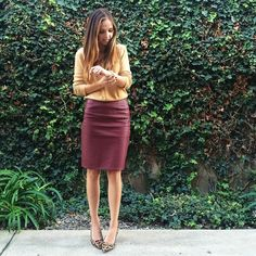 A simple fall-inspired color palette for #sundaystyle today