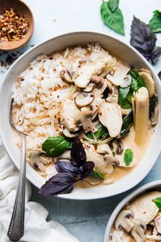 """We are excited to bring you this delicious compilation of our best soup recipes & hope this will become your new """"look no further list"""" for cozy weather soups! Most Popular Soup Recipes—Hands Down! Best Soup Recipes, Dinner Recipes, Healthy Recipes, Punch Recipes, Fruit Recipes, Keto Recipes, Best Mushroom Recipe, Mushroom Recipes, Creamy Coconut Chicken"""