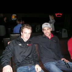 Two of my favorite Portland Winterhawks; Mac Carruth and Brendan Leipsic!