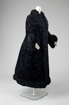 Evening Coat  Emile Pingat, 1888-1890  The Metropolitan Museum of Art