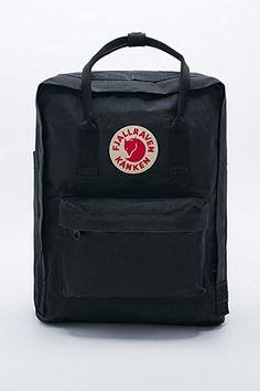Fjallraven Kanken Classic Black Backpack - Urban Outfitters
