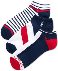 Polo Ralph Lauren Sport Socks 3-Pack