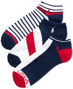 Polo Ralph Lauren Sport Socks 3-Pack