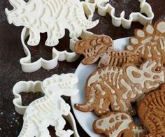 I Waste So Much Money - Dig-Ins Dinosaur Fossil Cookie Cutters