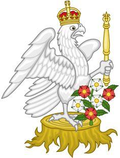 Silver Falcon Badge of Anne Boleyn and Elizabeth I of England
