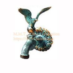 "Kerti Csap sas figurával.Eagle, copper pin. Each pin is 1/2 ""threaded. Wall fountain brings (rosettes can be attached to E) Manufacture of copper-garden taps. I fished Hungary. Taps, Rosettes, Hungary, Fountain, Eagle, Copper, Christmas Ornaments, Holiday Decor, Garden"