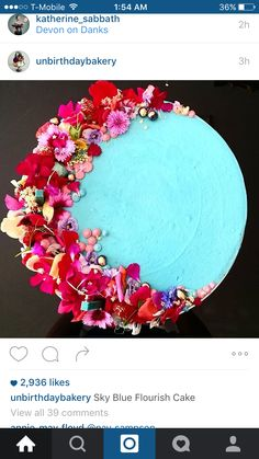 Cake from unbirthday bakery on Instagram 68c9d4f9d9ab2