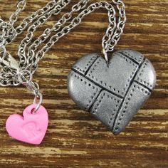 polymer clay charm- heart | polymer clay | Pinterest | Arcilla De ...