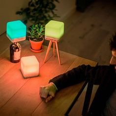 Portable mood lighting that can last for up 80 hours.