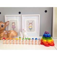 Kids room display, Sonny Angels