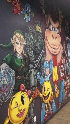Gaming wall