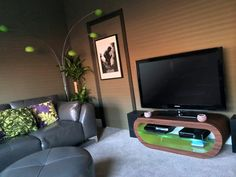 Our custom TV stands can be customised with colours & patterns to suit any living room. They are also great media units to store games consoles and games!