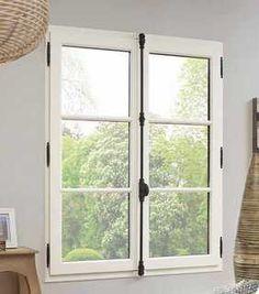 fen tre bois avec fabrication style r taise volets portes fenetres pinterest. Black Bedroom Furniture Sets. Home Design Ideas