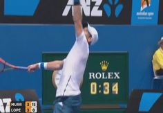 Andy Murray hits an embarrassing serve into the stands at Australian Open - Sultr Sports Fails, Andy Murray, Australian Open, Funny, Funny Parenting, Entertaining, Hilarious, Humor, Humour