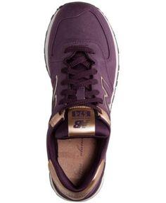 new balance 574 core purple