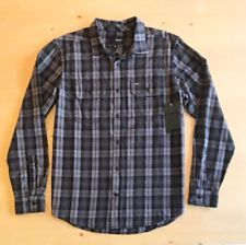 Issues and Item Defects. Cool Fabric, Hurley, Button Up Shirts, Men Casual, Plaid, Pocket, Long Sleeve, Sick, Cotton