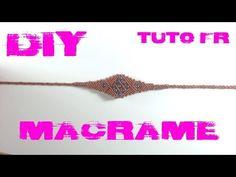 DIY - Tuto Bracelet Ethnique en Macramé - YouTube