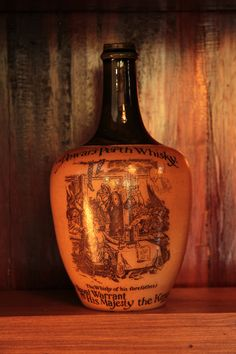 Antique Stoneware, Ceramic Jars, Scotch Whisky, Bourbon, 19th Century, Whiskey, Cave, Bottles, Alcohol