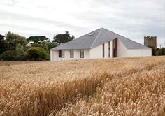 House in Wexford by GKMP Architects features pyramid roof