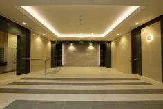 アルバガーデン グランビュー白川 熊本市竣工写真 エントランスホール