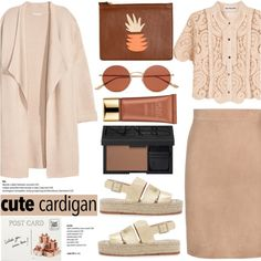 How To Wear No 369 Cute Spring Cardis (On Top of Top Set) Outfit Idea 2017 - Fashion Trends Ready To Wear For Plus Size, Curvy Women Over 20, 30, 40, 50