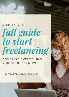 It's your time to stop dreaming and start doing! I'm offering you a full step-by-step guide to start freelancing!! It really covers all you need to know about freelancing when starting out: how to choose the service & price for your offer, how to build a freelance service website, answering questions about freelance business branding, marketing tips and tricks and so much more! http://www.therandomp.com/rssf/