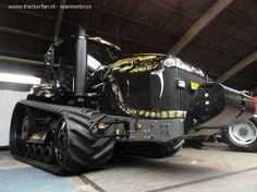 Challenger MT 865C Field Python #Tractor!