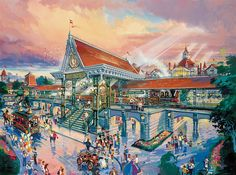 Disneyland Paris Main Street Station