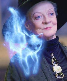 Professor McGonagall's Patronus... A CAT