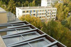 Střešní zimní zahrada s pergolovou střechou ZP03 | Viktorian.cz