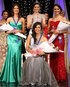 #MissNewZealand 2015, #DeborahLambie won coveted title to represent New Zealand at #MissWorld 2015. 1st Runner up Hayley Robinson and 2nd Runner up Te Rua Wallace.