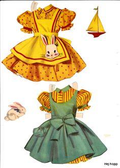 helle og lykke paper dolls ..........❤♥♥• Nims •❤♥