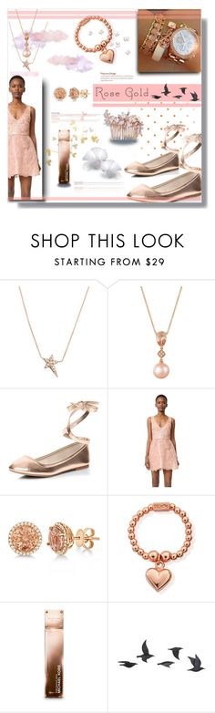 """Rose Gold for 2017"" by beiacas ❤ liked on Polyvore featuring Diane Kordas, LE VIAN, Dorothy Perkins, Monique Lhuillier, Allurez, ChloBo, Michael Kors, Jayson Home, Camilla Christine and rosegold"