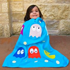Tutorial: How to make a Pac-Man Baby Blanket