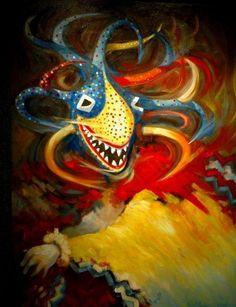 Vejigante by Pedro Brull Puerto Rican Festival, Puerto Rican Culture, Cuban Art, Caribbean Carnival, Carnival Masks, Masks Art, Cultural, Puerto Ricans, Beautiful Islands