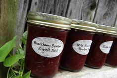 Wild Blackberry Bourbon Jam - National Can-It-Forward #Giveaway #CanItForward Win an awesome canning kit prize at Rural Mom
