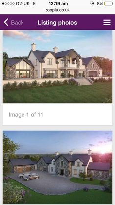 Ideas For Farmhouse Architecture House Plans Front Elevation Farmhouse Architecture, Modern Farmhouse Exterior, Residential Architecture, Dream House Exterior, Dream House Plans, Style At Home, House Designs Ireland, Rendered Houses, Dormer House