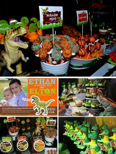 Dinosaur Themed Kids Party | Marabous