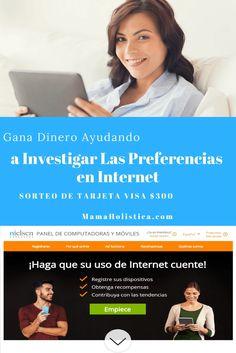 Gana Dinero Ayudando a Investigar las Preferencias en Internet y #Sorteo de tarjeta Visa de $300 #ad ➡️ http://go.shr.lc/2ptBcCF                      ENGLISH VERSION: Earn Money Helping Investigate Internet Preferences and $ 300 Visa Card Giveaway #ad ➡️ http://go.shr.lc/2ptBcCF #mamaholistica #influencer #instagood #postoftheday #nielsen @shesavvysocial #instagiveaway #siguemeytesigo #lunesdeganarseguidores #momblogger