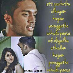 Love Lyrics Quotes, Cool Lyrics, Movie Quotes, True Quotes, Perfect Pic, Tamil Songs Lyrics, Meaningful Lyrics, Paris Wallpaper, Actor Photo