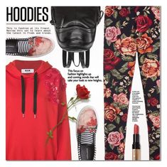 """""""Cozy Hoodies"""" by a-a-nica ❤ liked on Polyvore featuring Mother of Pearl, Monnalisa Chic, MSGM, Bobbi Brown Cosmetics and Hoodies"""