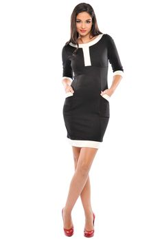Olian Maternity Caroline Ponte Dress